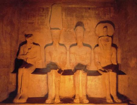 Santuario, templo Ramsés II, Abu Simbel