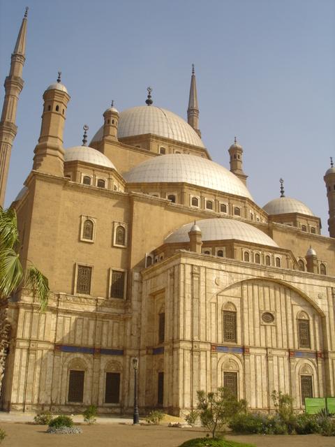 Mezquita de Alabastro (fachada), Ciudadela de Saladino, El Cairo