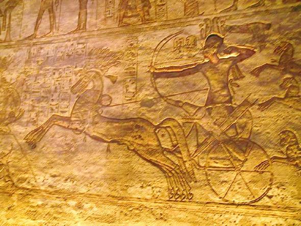 Muros Sala Hipóstila, Templo