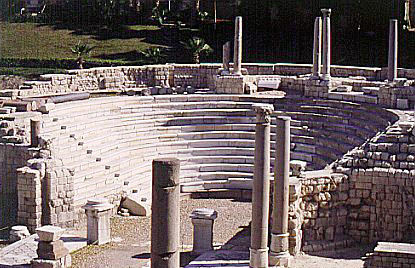 Anfiteatro romano, kom al-dikka, alejandr�a