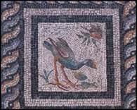 Mosaico valle de las aves, kom al-dikka, alejandr�a