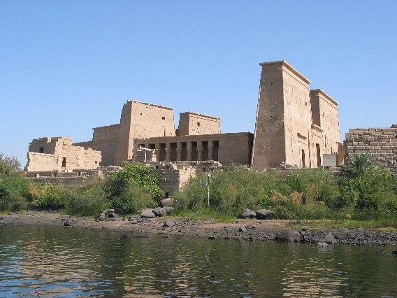 Templo de Isis, Filé