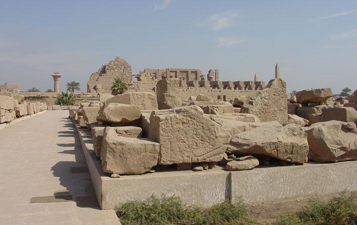 Templo de Akhenaten, Karnak