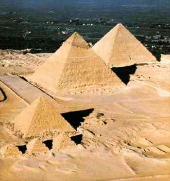 Fotos de la pirámides de Egipto