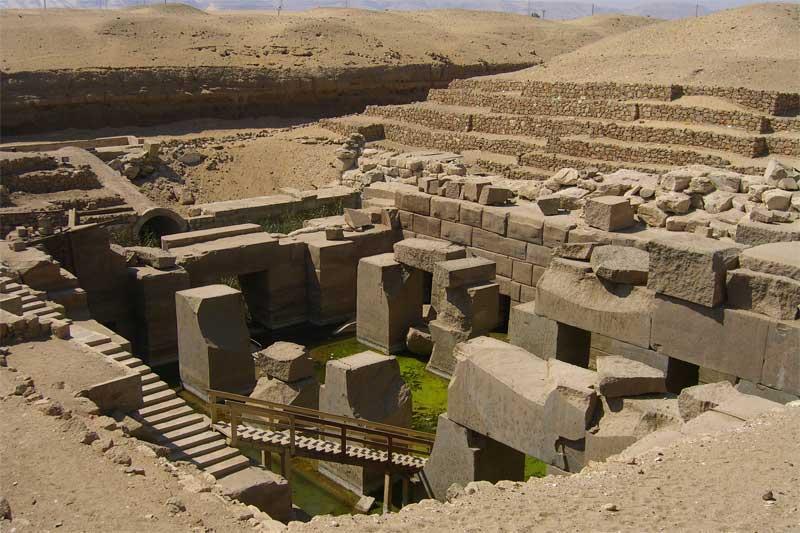 Templo de Osiris, Abidos