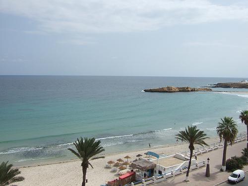 Corniche, Alejandr�a, playa