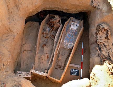 Cementerio, Necrópolis el Fayum