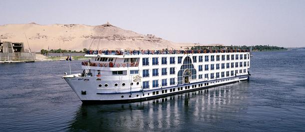 Recorrer el Nilo en crucero