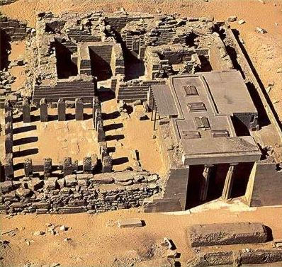 Templo del Valle, Niuserre, Abusir