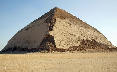 Pirámide inclinada, Dashur, Menfis, Snofru