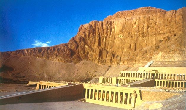 Fotos del Templo de Hatshepsut, en Deir el Bahari
