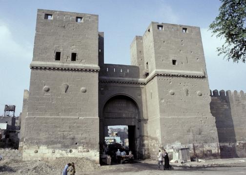 Puerta de la victoria, fortaleza, El cairo