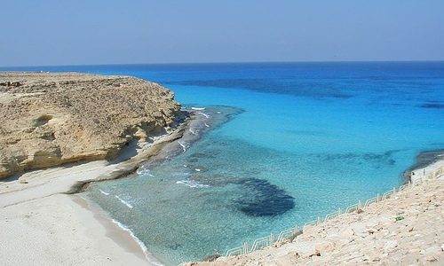 Marsa Matruh, Playa Agiba