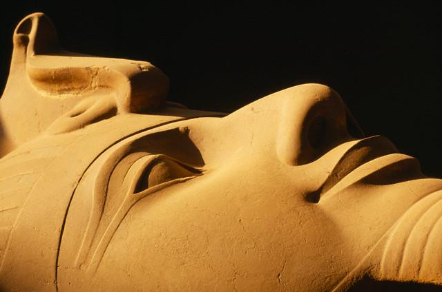 Coloso de Ramsés II, Menfis