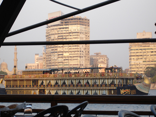Restaurantes flotantes de Egipto