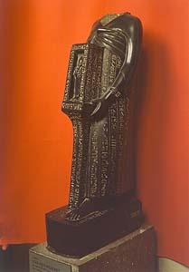 Museo Gregoriano Egipcio, Museos del Vaticano, estatua Sais.