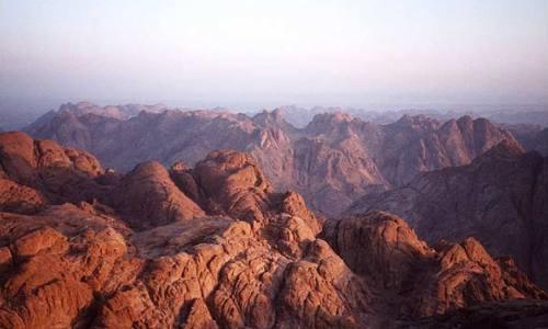 Montañismo, escalada, Monte Sina�, Egipto