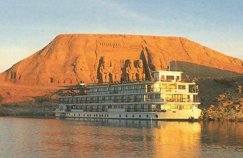 Abu Simbel, Ramsés II, crucero lago Nasser