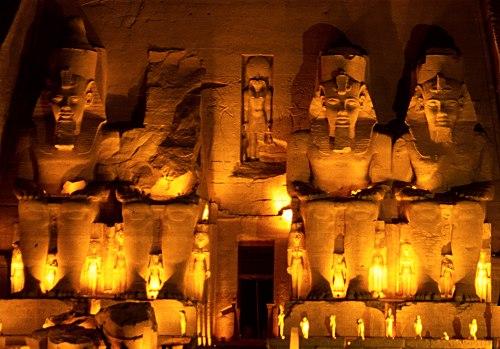 Templo de Abu Simbel, Ramsés II, Festival, Asuán