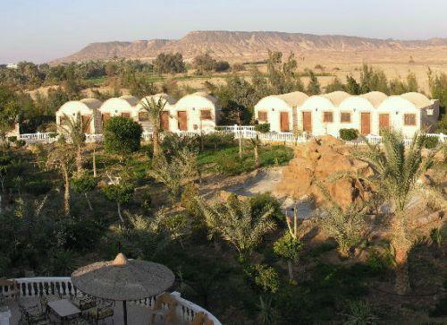 Bawiti, oasis de Bahariya, desierto egipcio