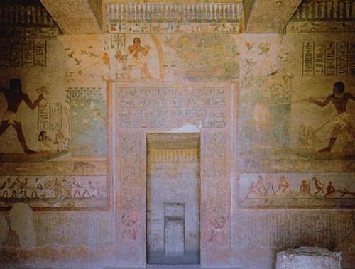 Beni Hasan, necrópolis, tumba de Jnumhotep II.