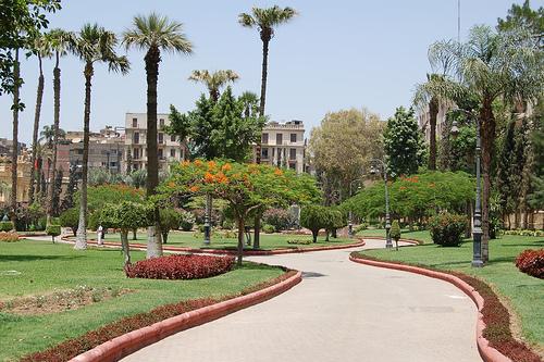 Jardines del Palacio Abdeen, El Cairo