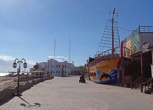 Dahab, en el golfo de Aqaba