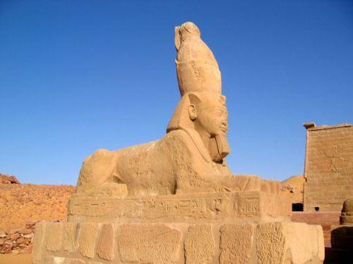 Wadi Sebua, templo egipcio