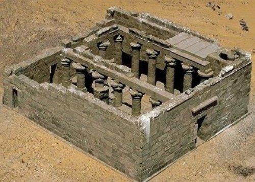 Templo de Maharraqa en Nasser