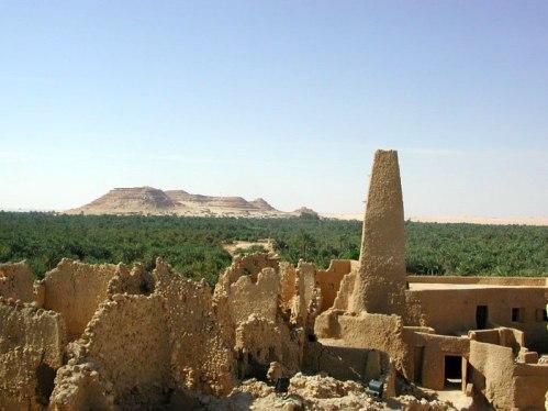 Templo de Amon en Siwa