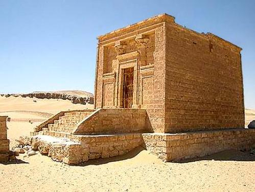 Tuna el-Gebel, antigua ciudad egipcia