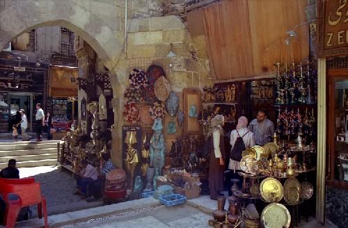 El Gran Bazar Khan al-Khalili en El Cairo