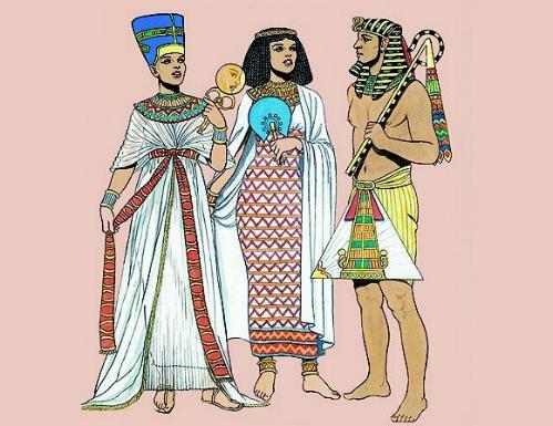 La moda en el Antiguo Egipto