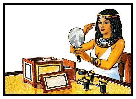 El maquillaje de los antiguos egipcios