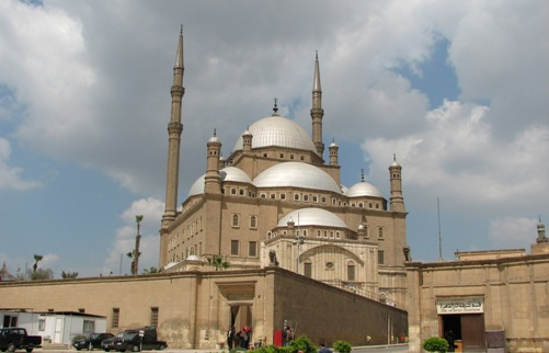 Fotos de la Mezquita de Alabastro en El Cairo