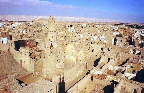 Al-Qasr, en el Oasis de Dakhla
