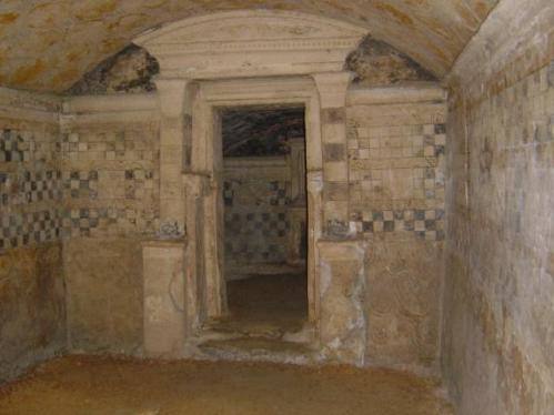 Las tumbas de Anfushi, en Alejandría