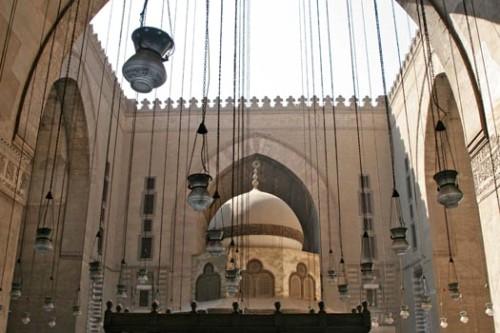 La Mezquita del Sultán Hassan, en El Cairo