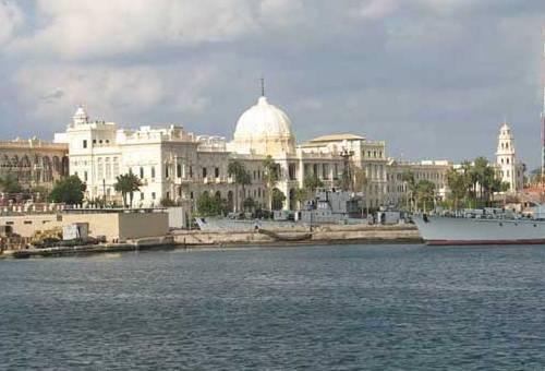 El palacio de Ras el-Tin