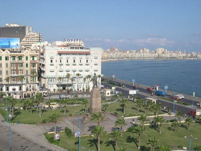 Plaza Saad Zaghloul, en Alejandría