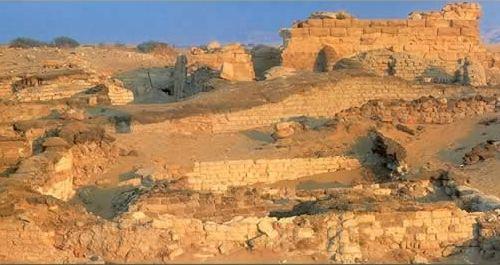 El templo de Alejandro Magno, en Bahariya