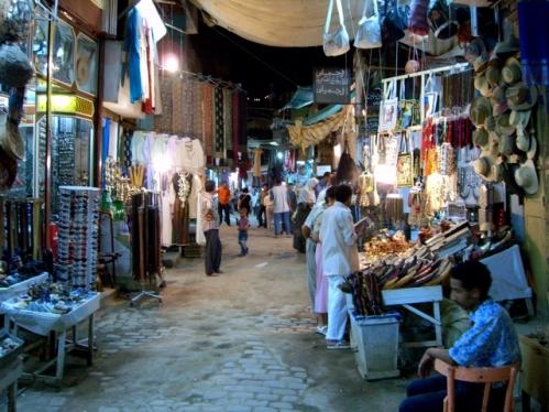 Mercado de las Especias en Asuan