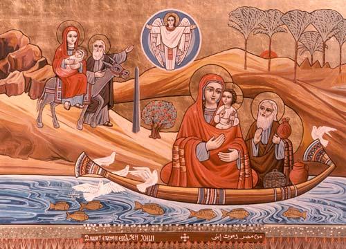 La Sagrada Familia en Egipto