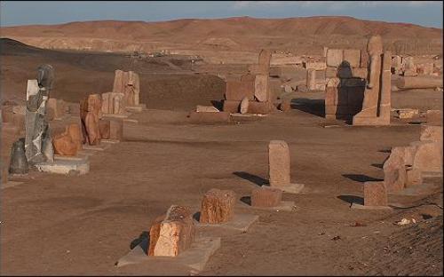 La antigua ciudad de Djanet