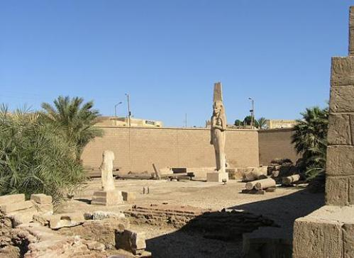 Ajmin y su museo al aire libre