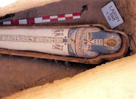 Descubrimiento de una necropolis en Egipto