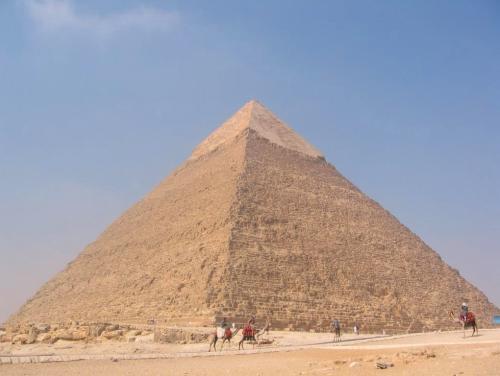 La piramide de Kefren