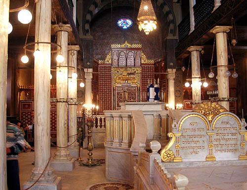 La sinagoga Ben Ezra, en El Cairo