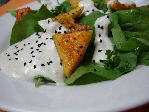 Ensalada de Tahina, receta de Egipto