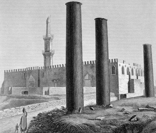La Mezquita Attarine, en Alejandria